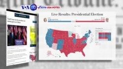 Manchetes Americanas 9 Novembro: Hillary Clinton pediu desculpas aos seus apoiantes
