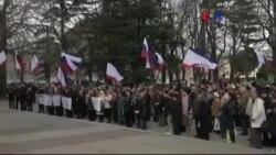 Ukrayna Kırım'da Referanduma Karşı