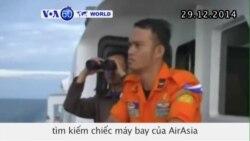 Mở rộng khu vực tìm kiếm chiếc máy bay của AirAsia mất tích (VOA60)