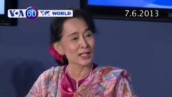 Bà Suu Kyi tuyên bố muốn trở thành tổng thống năm 2015 (VOA60)