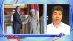 اشتون کارتر و مسعود بارزانی در اربیل درباره نبرد با داعش گفتگو کردند