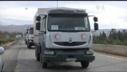Гуманітарна допомога досягла міста Мадая. Відео
