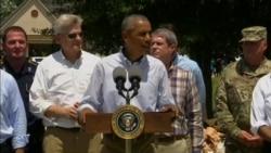 Obama on Louisiana Flood Victims
