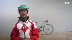 بایسکلرانی دختران در افغانستان