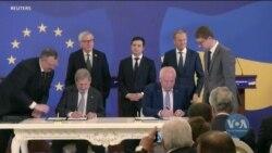 Україна і ЄС підписали 5 угод за підсумками саміту в Києві. Відео