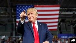 Perezida Donald Trump wa Reta zunze ubumwe z'Amerika.