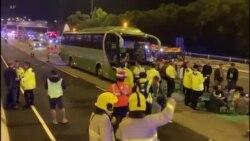 Honq Konqda avtobus qəzası baş verib