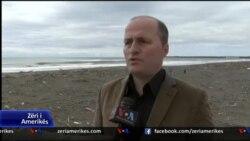 Ndotja e vijes bregdetare mes Shqiperise dhe Malit te Zi