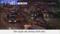 Hong Kong kết thúc hai tháng biểu tình dân chủ (VOA60)