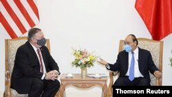 U.S. Secretary of StateMikePompeovisits Vietnam