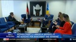 Këshilltarët e kancelares Angela Merkel në Kosovë