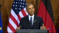 2016-04-25 美國之音視頻新聞: 奧巴馬稱歐洲團結世界不可或缺