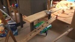 Kompetisi Mesin Unik 'Rube Goldberg'