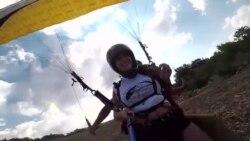 Летањето со параглајдер - туристичка атракција во Охрид