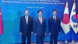 Thảo luận về các vùng thương mại tự do ở châu Á tại hội nghị thượng đỉnh ba bên