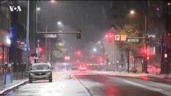 Погодные условия привели к транспортному коллапсу в США
