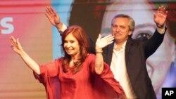 El presidente electo Alberto Fernández asumirá el cargo la próxima semana en reemplazo de Mauricio Macri, junto a la exmandataria Cristina Fernández de Kirchner como vicepresidenta.