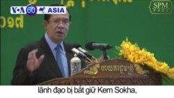 Thủ tướng Campuchia dọa giải tán đảng đối lập