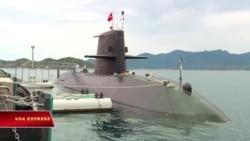 Tàu ngầm Nhật tập trận ở Biển Đông, thăm Việt Nam