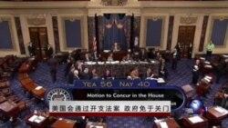 VOA连线:美国会通过政府开支,避免关门危机