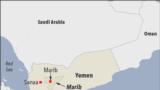 مارب په یمن کې د تیلو له پلوه یو غني ولایت دی او حوثي یاغیانو یې د نیولو لپاره تعرضي عملیات ډیر کړي.