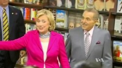 Clinton Launches Book Tour