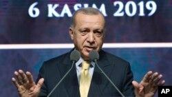 တူရကီသမၼတ Recep Tayyip Erdogan