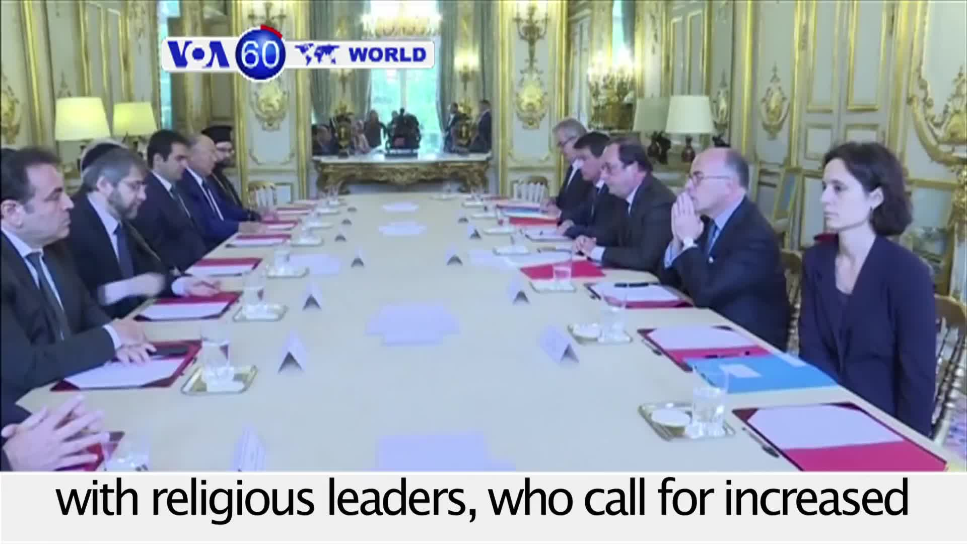 VOA60 World - French Religious Leaders Concerned After Latest Terror Attack