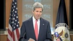 克里指责俄无视关于乌克兰的日内瓦协议