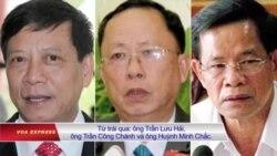 Một số quan chức bị kỷ luật liên quan đến Trịnh Xuân Thanh