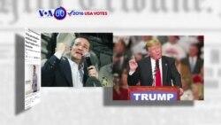 Manchetes Americanas 8 Março: Republicanos insatisfeitos com Trump e Cruz