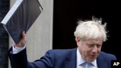 Umkhokheli wakwele Bhilithane uMnu. Boris Johnson.