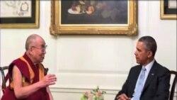 奧巴馬白宮晤達賴喇嘛北京憤怒