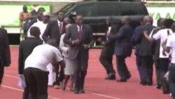 Papa alenga ufisadi wakati wa ziara yake Kenya