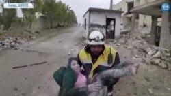 Esat Güçleri Suriye'nin Halep Kırsalını Vuruyor