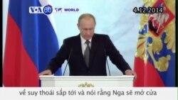 Tổng thống Putin: Nga sẽ mở cửa cho đầu tư nước ngoài (VOA60)