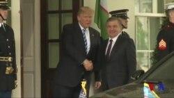 Prezident Mirziyoyev Oq uyga yetib keldi