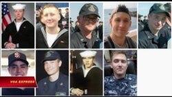 Hải quân Mỹ ngừng tìm kiếm thủy thủ mất tích của tàu USS McCain