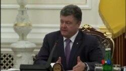 2014-06-17 美國之音視頻新聞: 烏克蘭總統承諾重新控制邊界