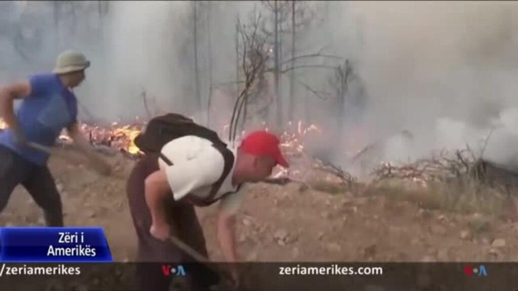 Zjarret në Maqedoninë e Veriut; Qeveria shpall gjendje të krizës