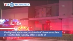 VOA60 America - China said Wednesday that the U.S. had ordered it to close its Houston consulate