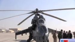 هیلکوپتر های کمک هند به افغانستان سپرده شد