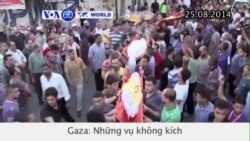 Những vụ không kích của Israel giết chết 12 người (VOA60)
