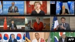Gjatë një takimi virtual të OBSH-së me udhëheqësit botërorë