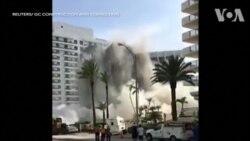 Tòa nhà 'bất ngờ' sập ở Miami