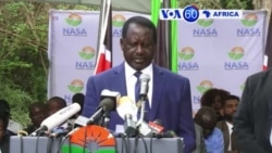 """Manchetes Africanas 1 Novembro 2017: Odinga cria """"assembleia popular"""""""