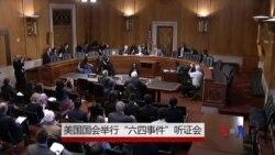 美国会举行六四听证会 美资深外交家对中国看法迥异