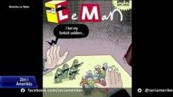 Gjendja e lirisë së shtypit në Turqi; situata e karikaturistëve politikë