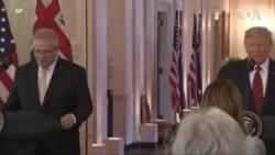 Пресс-конференция президента США Дональда Трампа и премьер-министра Австралии Скотта Моррисона