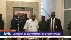 Démission du gouvernement Maïga